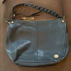 Vince Camuto Black Purse w/ Gold accents